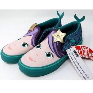 Vans slip o  Asher mermaid blue sneaker shoes